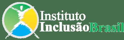 Logo Instituto Inclusão Brasil - Branco